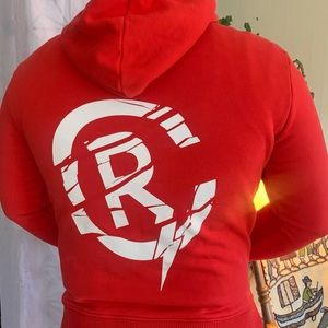Resort Corp Made in Pain Red & Heavy Hoodie